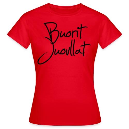 Buorit juovllat - T-skjorte for kvinner