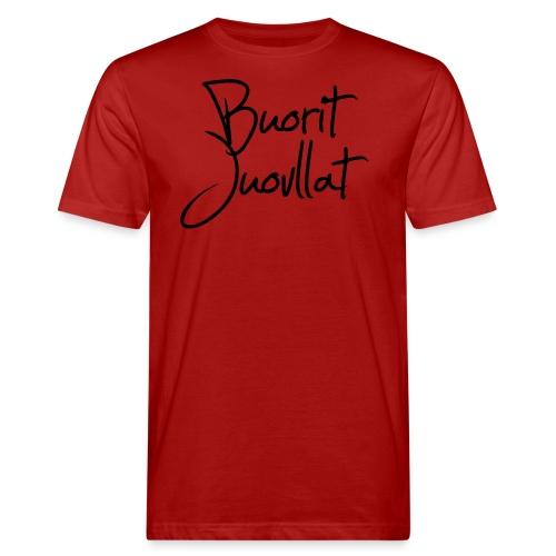 Buorit juovllat - Økologisk T-skjorte for menn