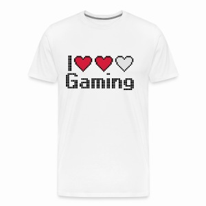 I Heart Gaming - Men's Premium T-Shirt