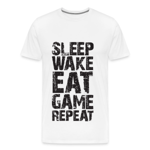 Sleep Wake Eat... - Men's Premium T-Shirt