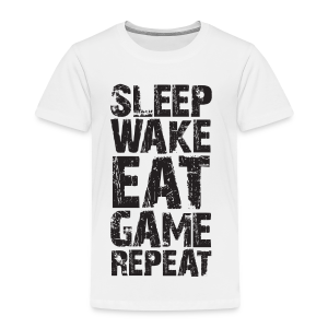 Sleep Wake Eat... - Kids' Premium T-Shirt