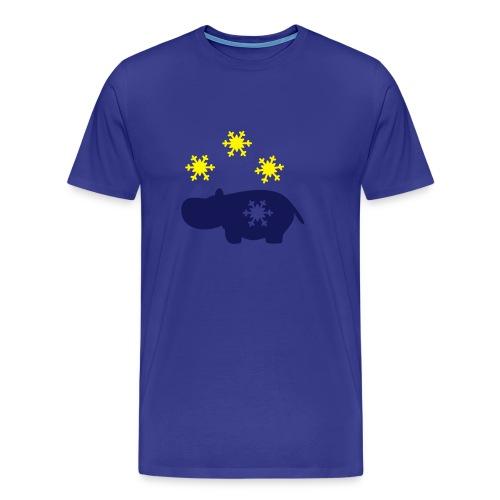 Nili mit Schneeflocke - Männer Premium T-Shirt