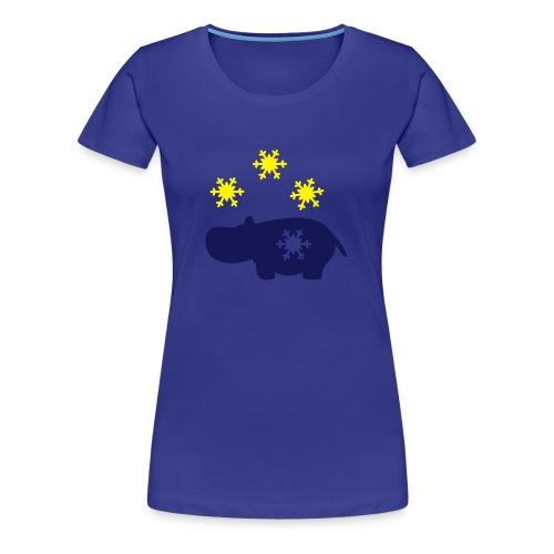 Nili mit Schneeflocke - Frauen Premium T-Shirt