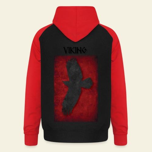 Ravnefanen Viking - Unisex baseball hoodie