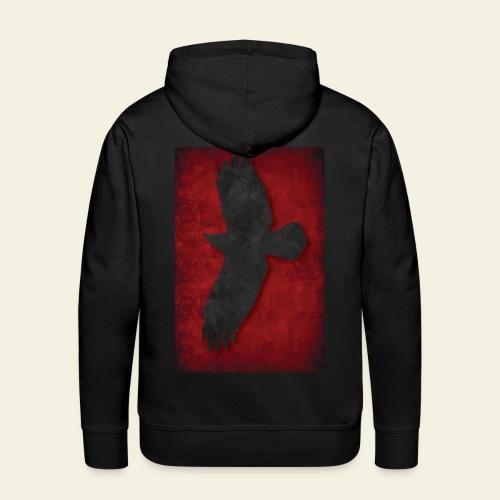 Ravnefanen Viking - Herre Premium hættetrøje