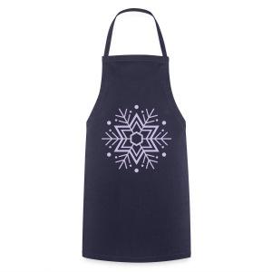 Schneeflocken-T-Shirt - Kochschürze