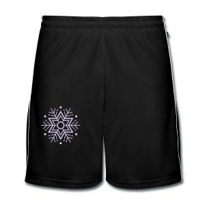 Schneeflocken-T-Shirt - Männer Fußball-Shorts