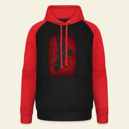 Ravnefanen - Loose fit - Unisex baseball hoodie