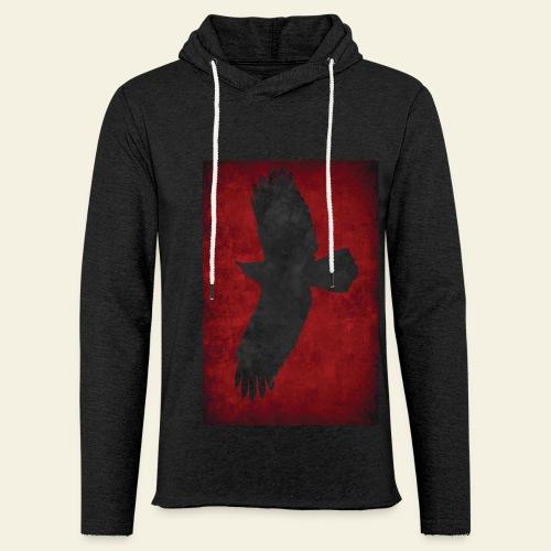 Ravnefanen - Loose fit - Let sweatshirt med hætte, unisex