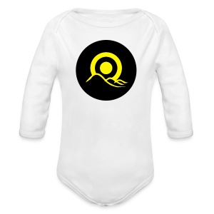 Sunrise Button - Longsleeve Baby Bodysuit