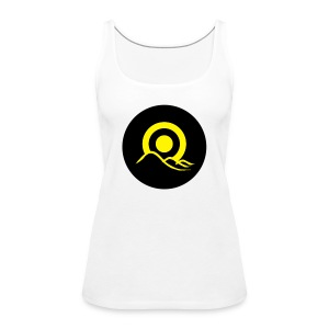 Sunrise Button - Women's Premium Tank Top