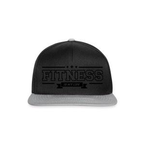 Fitness is my Life - Snapback cap