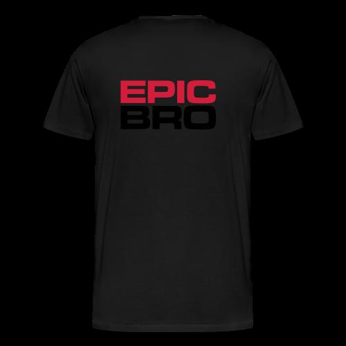 Epic Bro Hoodie - Männer Premium T-Shirt