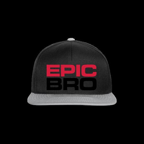 Epic Bro Hoodie - Snapback Cap