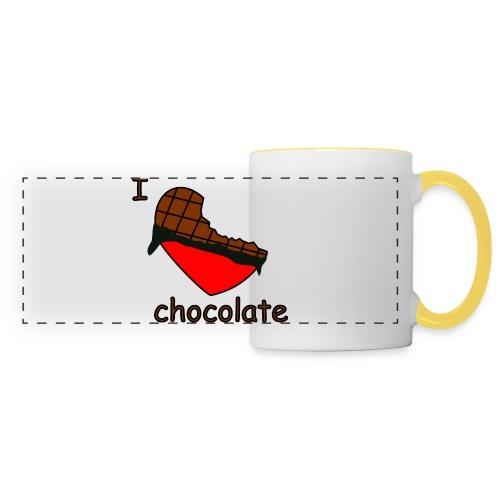 I love chocolate - Panoramatasse