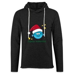 Kugelige Weihnachten - Leichtes Kapuzensweatshirt Unisex