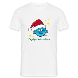 Kugelige Weihnachten - Männer T-Shirt