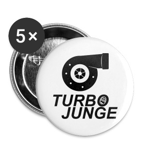 Turbojunge! - Buttons klein 25 mm