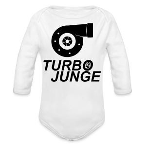 Turbojunge! - Baby Bio-Langarm-Body