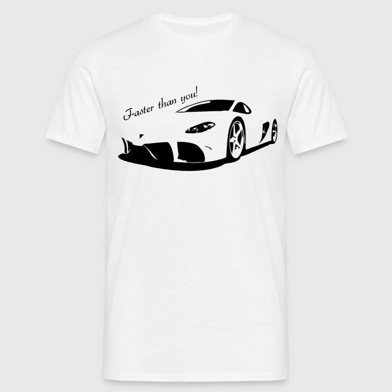 faster than you Tee shirts - T-shirt Homme