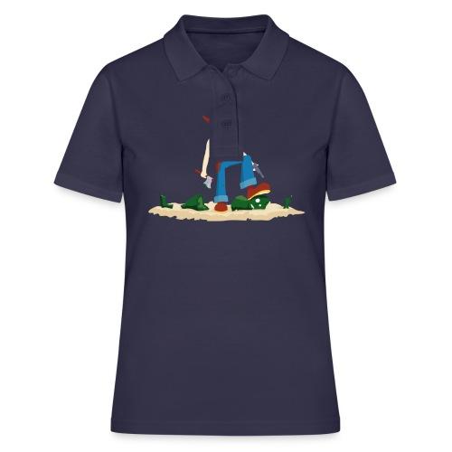 Tueur de Zombie - T-shirt Geek - Women's Polo Shirt