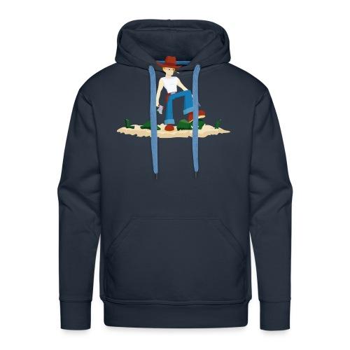 Tueur de Zombie - T-shirt Geek - Sweat-shirt à capuche Premium pour hommes