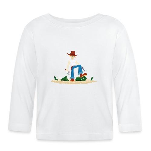 Tueur de Zombie - T-shirt Geek - T-shirt manches longues Bébé