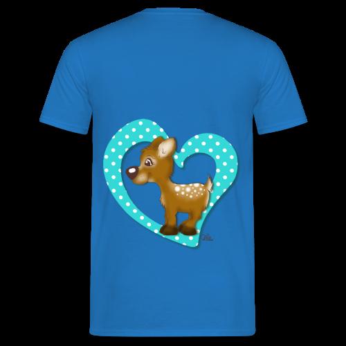 KinderShirt Kira Kitzi Aqua - Männer T-Shirt