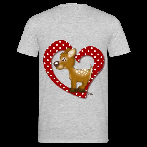 Kira Kitzi Fliepi - Männer T-Shirt