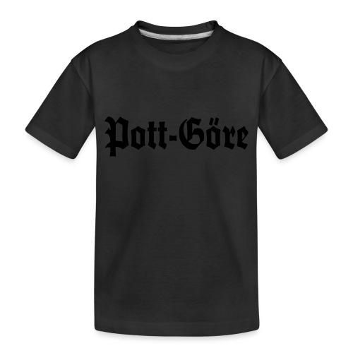 Pott Göre - Frauen Kapuzenpulli - Teenager Premium Bio T-Shirt