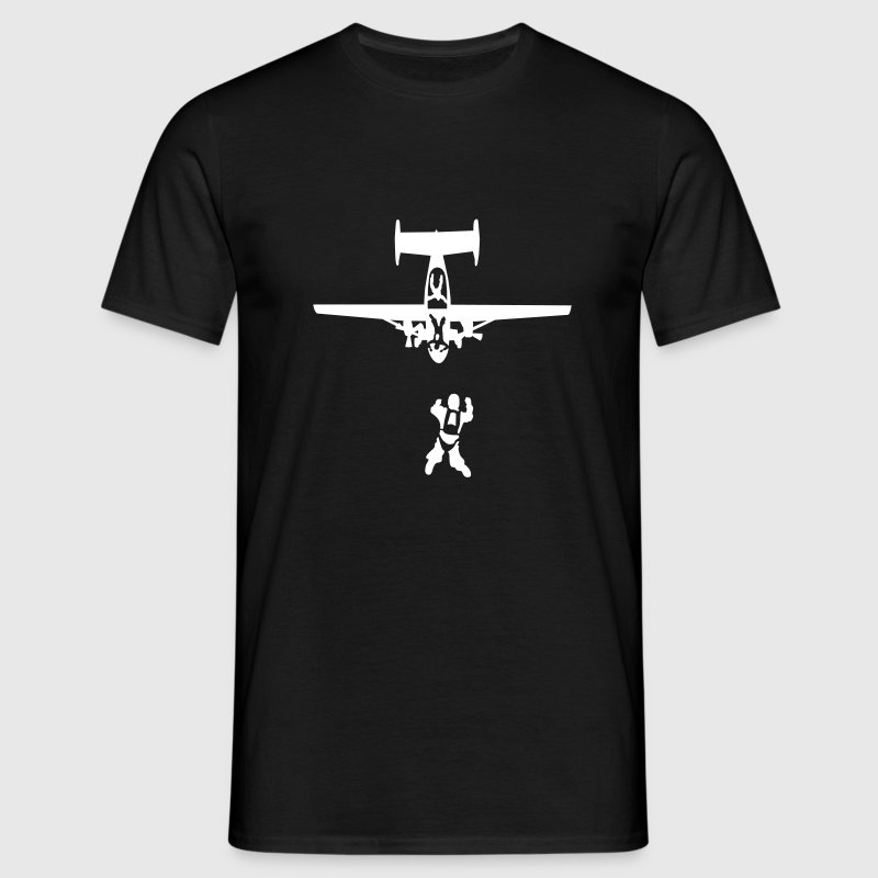 skydiving_9 T-Shirts - Men's T-Shirt