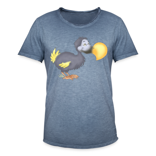 Dropsiger Dodo  - Männer Vintage T-Shirt