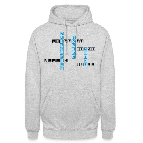 Ruhrpott - Bochum - Heimat - Liebe - Verein - T-Shirt - Unisex Hoodie