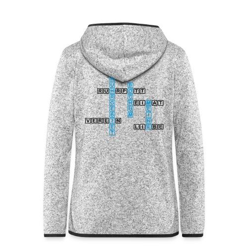 Ruhrpott - Bochum - Heimat - Liebe - Verein - T-Shirt - Frauen Kapuzen-Fleecejacke