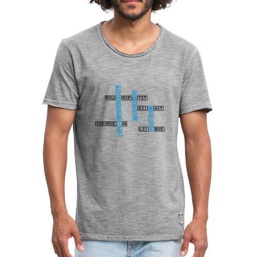 Ruhrpott - Bochum - Heimat - Liebe - Verein - T-Shirt - Männer Vintage T-Shirt