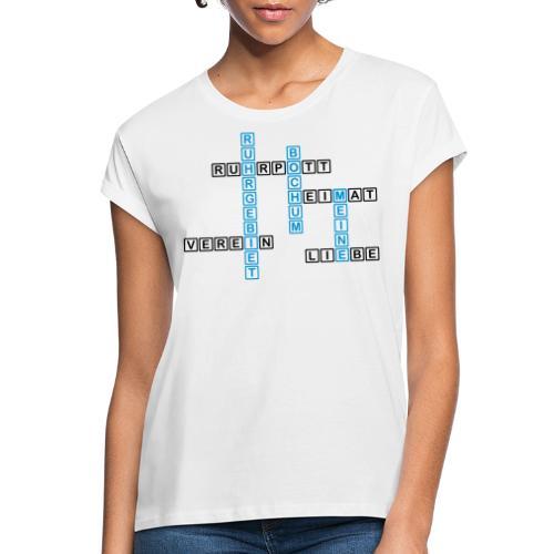Ruhrpott - Bochum - Heimat - Liebe - Verein - T-Shirt - Frauen Oversize T-Shirt