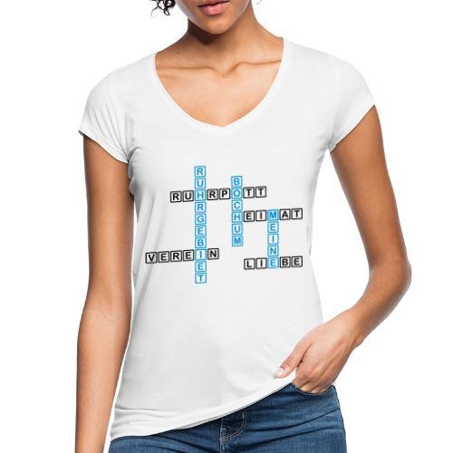 Ruhrpott - Bochum - Heimat - Liebe - Verein - T-Shirt - Frauen Vintage T-Shirt