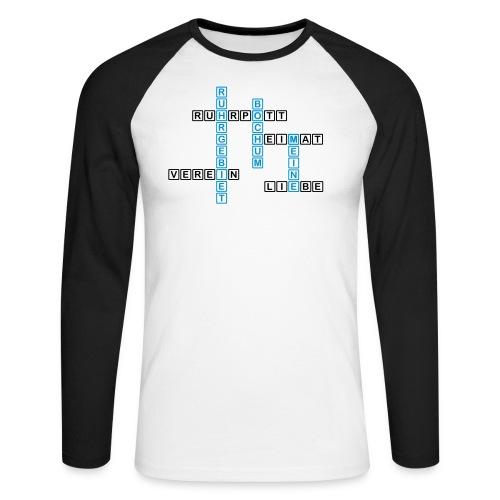 Ruhrpott - Bochum - Heimat - Liebe - Verein - T-Shirt - Männer Baseballshirt langarm
