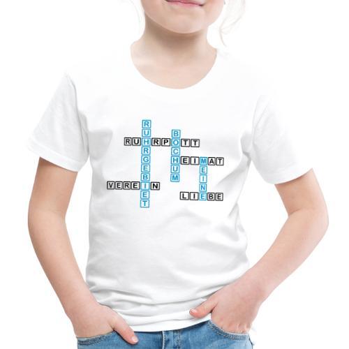 Ruhrpott - Bochum - Heimat - Liebe - Verein - T-Shirt - Kinder Premium T-Shirt