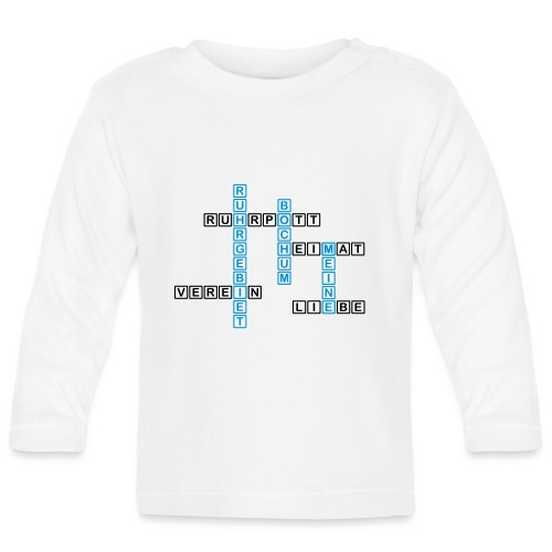 Ruhrpott - Bochum - Heimat - Liebe - Verein - T-Shirt - Baby Langarmshirt