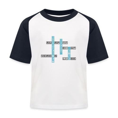 Ruhrpott - Bochum - Heimat - Liebe - Verein - T-Shirt - Kinder Baseball T-Shirt