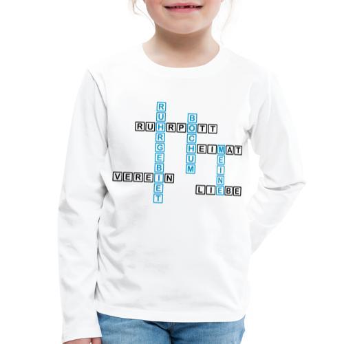 Ruhrpott - Bochum - Heimat - Liebe - Verein - T-Shirt - Kinder Premium Langarmshirt