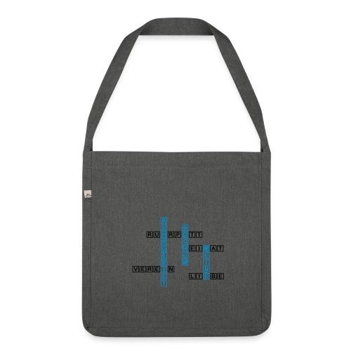 Ruhrpott - Bochum - Heimat - Liebe - Verein - T-Shirt - Schultertasche aus Recycling-Material
