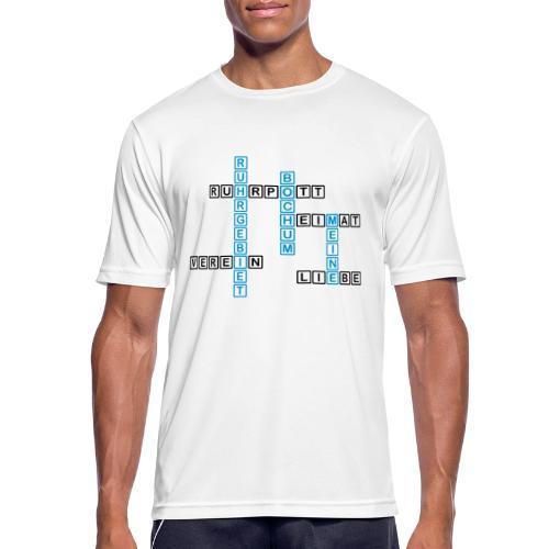 Ruhrpott - Bochum - Heimat - Liebe - Verein - T-Shirt - Männer T-Shirt atmungsaktiv