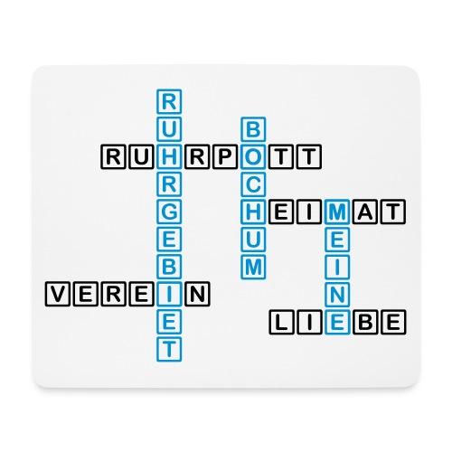 Ruhrpott - Bochum - Heimat - Liebe - Verein - T-Shirt - Mousepad (Querformat)