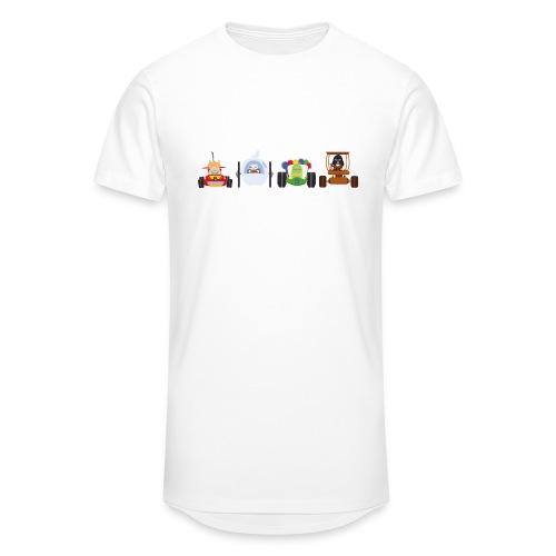 Os Race - T-shirt Homme - T-shirt long Homme