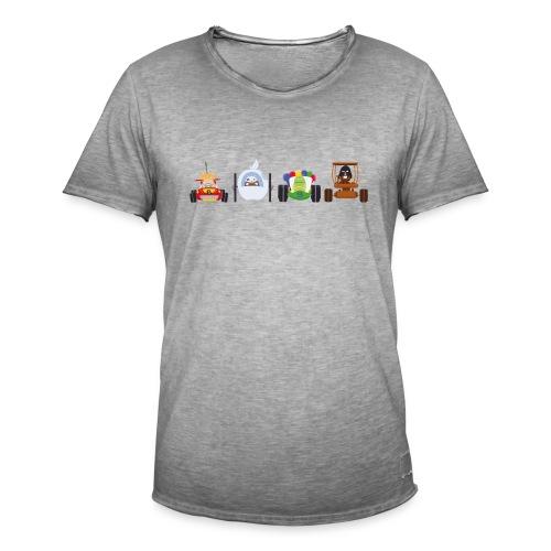 Os Race - T-shirt Homme - T-shirt vintage Homme