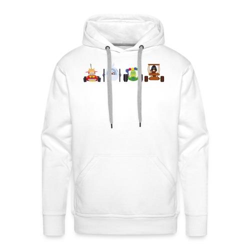Os Race - T-shirt Homme - Sweat-shirt à capuche Premium pour hommes