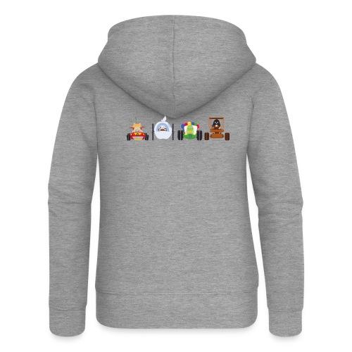 Os Race - T-shirt Homme - Veste à capuche Premium Femme