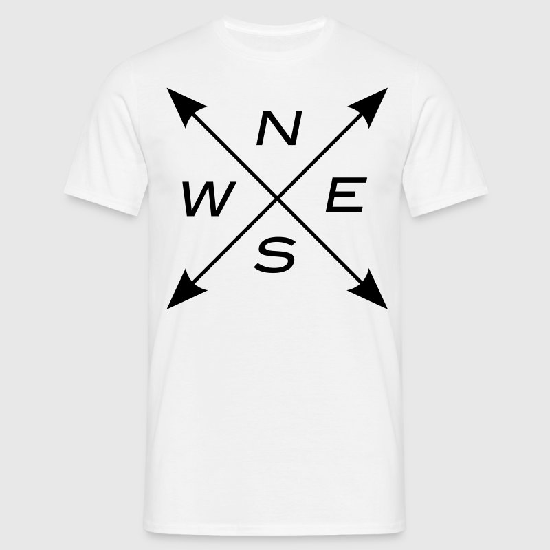 North East South West  1c T-Shirts - Men's T-Shirt